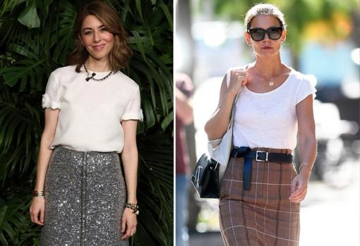Sofia Coppola and Katie Holmes advocate wearing them with high waists