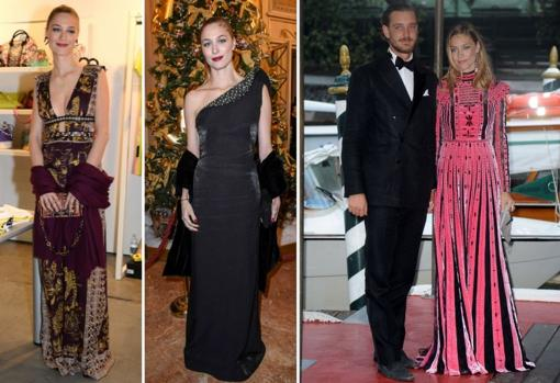 In the galas Valentino is one of his favorite firms