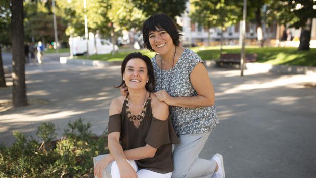 Sonia Serra y María Domínguez, autoras de «Madres de la Madre Tierra»