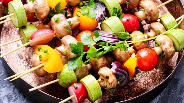 Las frutas y las verduras son las opciones más saludables para las barbacoas