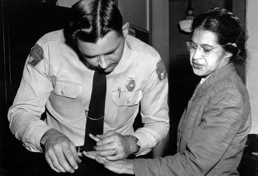 Durante el boicot, en la ciudad de Montgomery Parks o Luther King fueron arrestados
