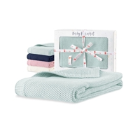 Eco cotton baby blanket