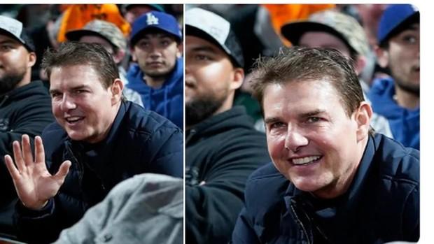 Tom Cruise sorprendió con su cambio físico