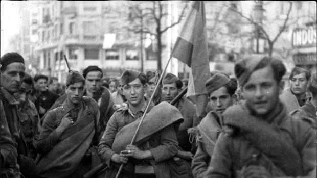 Foto de archivo Guerra Civil