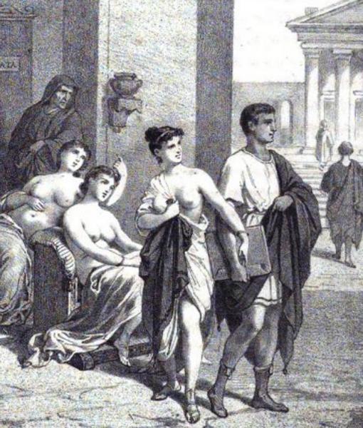 2f5cd5f5b712 Las extrañas prácticas sexuales de las prostitutas de la Antigua Roma