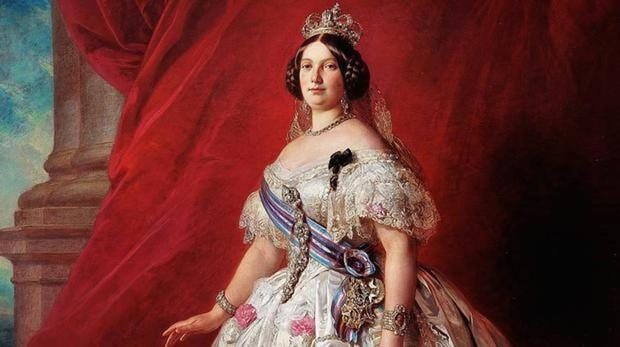 Retrato de Isabel II de España