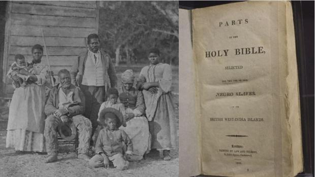 El ejemplar de la «Biblia de los esclavos» conservado en Washington