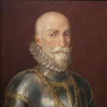 Retrato del aristócrata y marino español Álvaro de Bazán