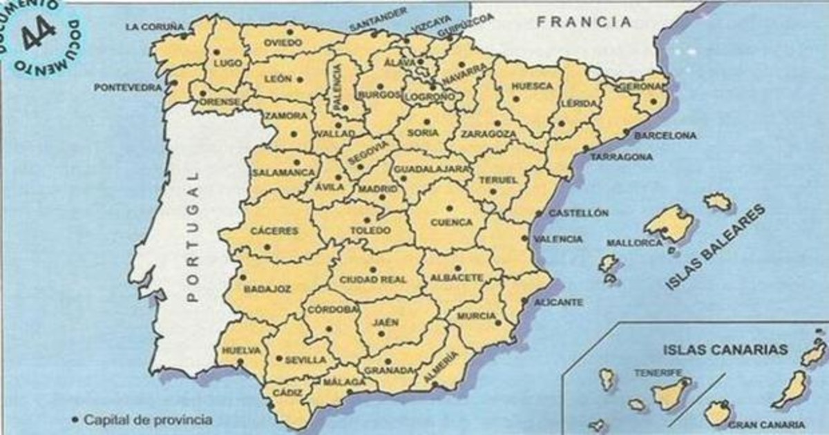 El Asunto Espinoso De La División Territorial En España Así Se Centralizó El Poder En Madrid