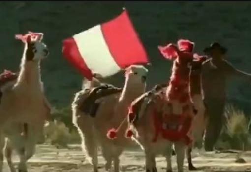 Captura del documental de los Andes en La 2
