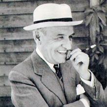 Ortega y Gasset en una fotografía tomada en Aspen (Estados Unidos)
