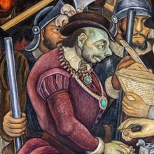 El escritor presentó El último suspiro del conquistador en la edición 42 de la feria del libro del Palacio de Minería