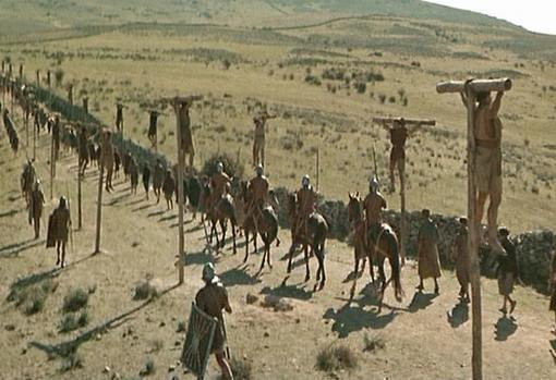 «Espartaco» (Spartacus), película estadounidense de 1960