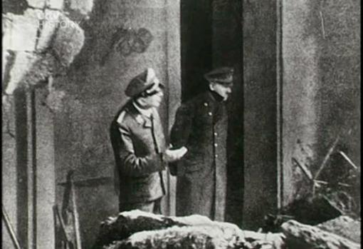 última fotografía que fue tomada a Hitler