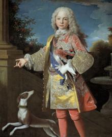 Retrato del infante Fernando cuando tenía diez años de edad