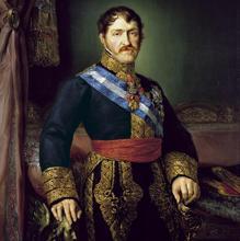 Retrato del Infante don Carlos, en 1825