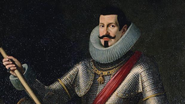 Pedro Téllez-Girón y Velasco, Duque de Osuna, por Bartolomé González y Serrano (1615).