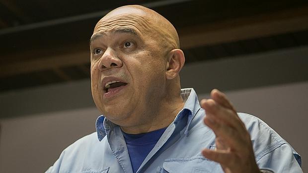 El secretario general de la alianza opositora venezolana Mesa de la Unidad Democrática (MUD), Jesús Torrealba