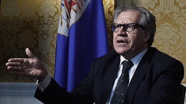 Luis Almagro, secretario general de la OEA, el pasado 19 de mayo en la sede del organismo hemisférico en Washington