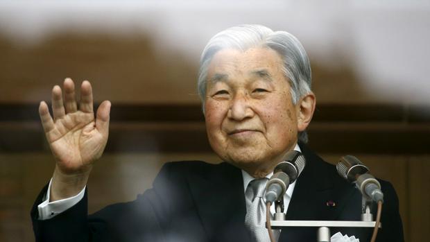 Akihito durante una comparecencia pública el día de su 82 cumpleaños, el pasado 23 de diciembre