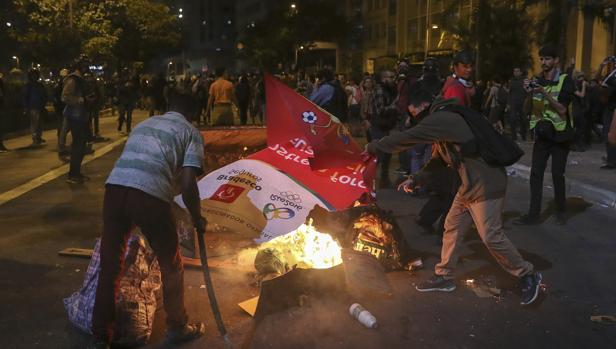 Protesta el pasado día 1 en las calles de Sao Paulo a favor de la destituida Dilma Rousseff