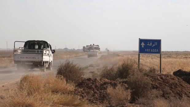 Estados Unidos pretende terminar con la principal plaza en manos del Daesh en Siria