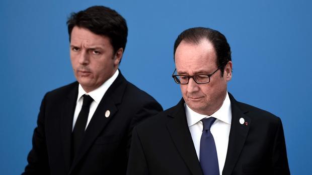 Matteo Renzi y François Hollande, dos ejemplos de izquierda fracasada
