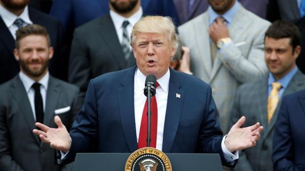 Fotografía del presidente Donald Trump