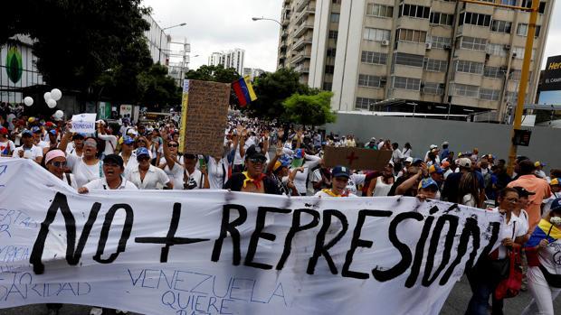 Marcha de las mujeres en Venezuela