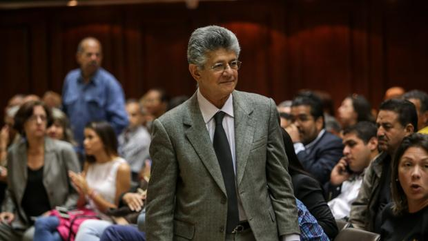 El diputado de la Asamblea Nacional (AN, Parlamento), Henry Ramos Allup