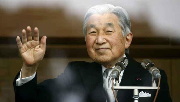 El emperador Akihito
