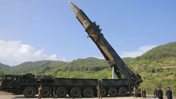 El Ejército norcoreano disparó el proyectil este martes en torno a las 09.40 hora surcoreana