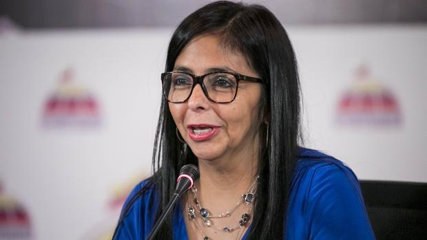 La presidenta de la Asamblea Nacional Constituyente (ANC) de Venezuela, la oficialista Delcy Rodríguez