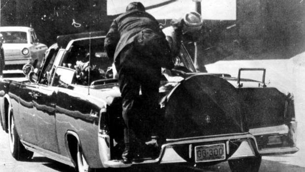 Imagen del asesinato de John F. Kennedy el 22 de noviembre de 1963