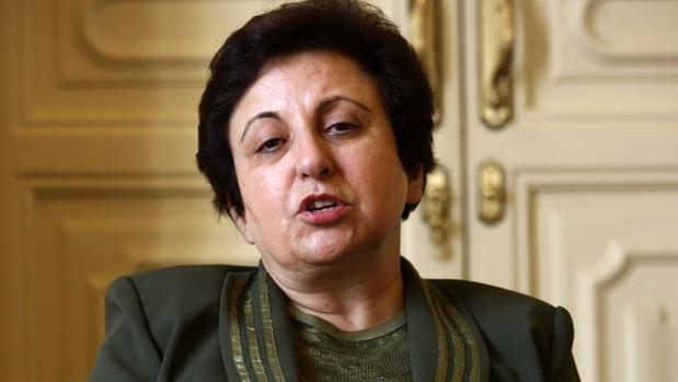 Shirin Ebadi, en una visita a España