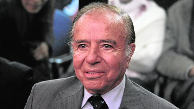 El expresidente argentino Carlos Menem