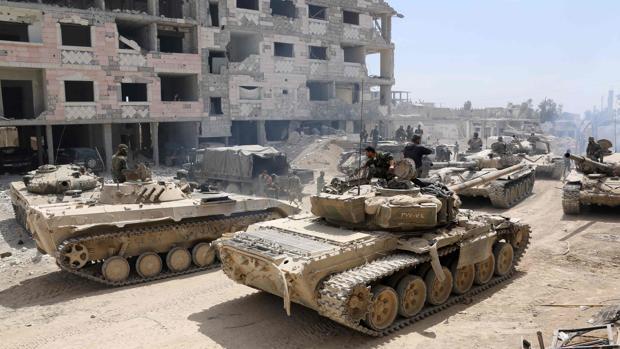 El Ejército sirio, en Duma