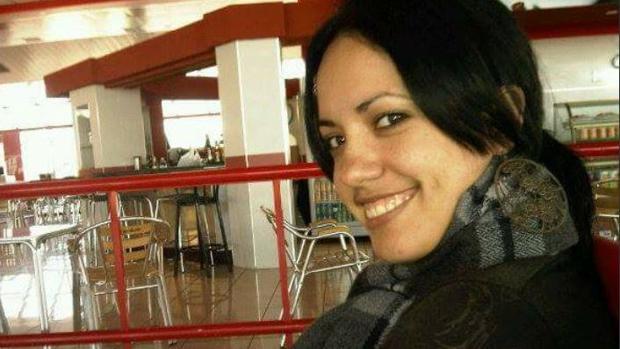 La joven cubana Grettel Landrove, de 23 años