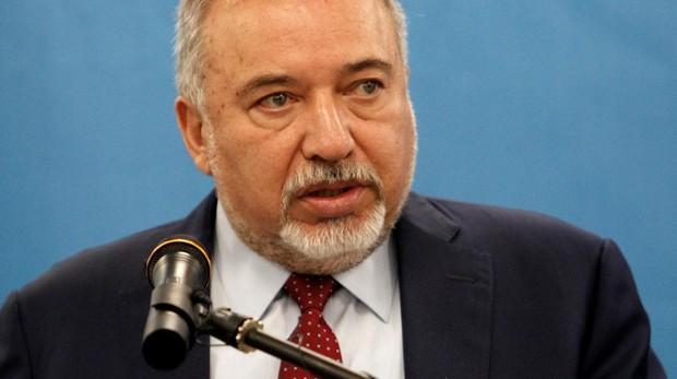 El ministro de Defensa israelí, Avigdor Lieberman