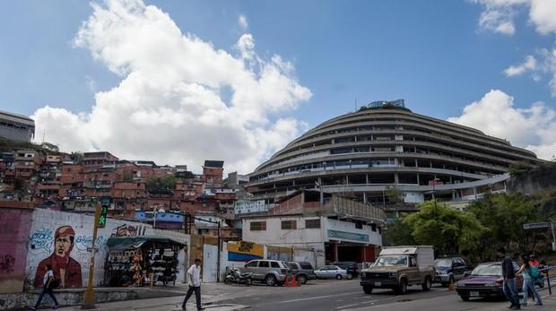 Vista externa de Helicoide en la capital venezolana