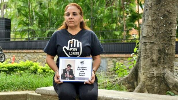 Yamile Saleh, madre del preso político Lorent Saleh