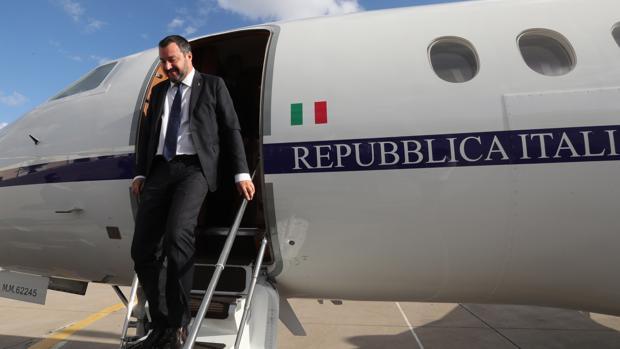 El ministro del Interior de Italia, Matteo Salvini