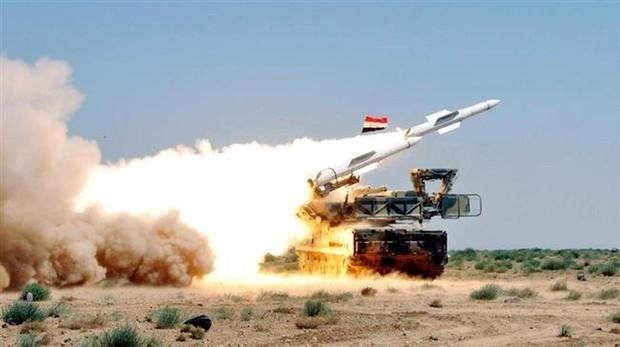 Sistema de defensa sirio
