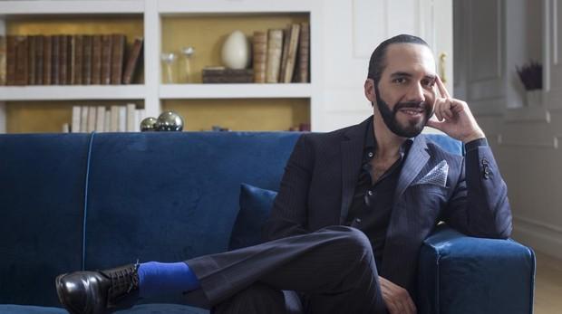 Nayib Bukele, el pasado mes de noviembre durante una entrevista con ABC en Madrid