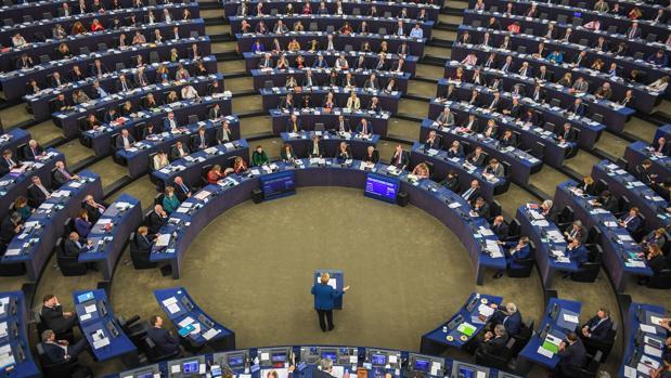 Sesión del Parlamento Europeo en Estrasburgo