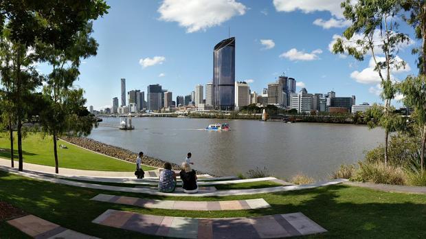 Vista de la ciudad de Brisbane