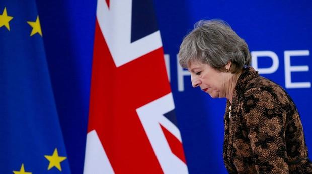 La primera ministra británica, Theresa May, en una imagen del pasado mes de diciembre