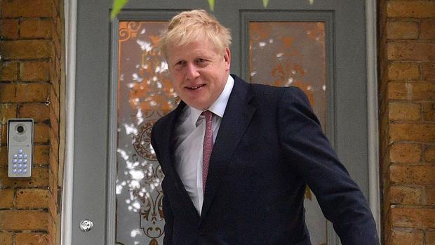 Boris Johnson en Londres, el pasado 7 de junio