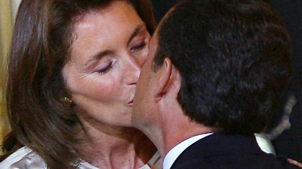 Sarkozy y su exesposa Cécilia