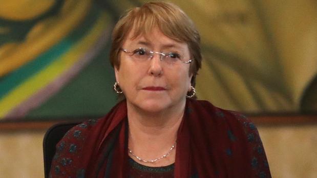 La Alta Comisionada de los Derechos Humanos de las Naciones Unidas, Michelle Bachelet